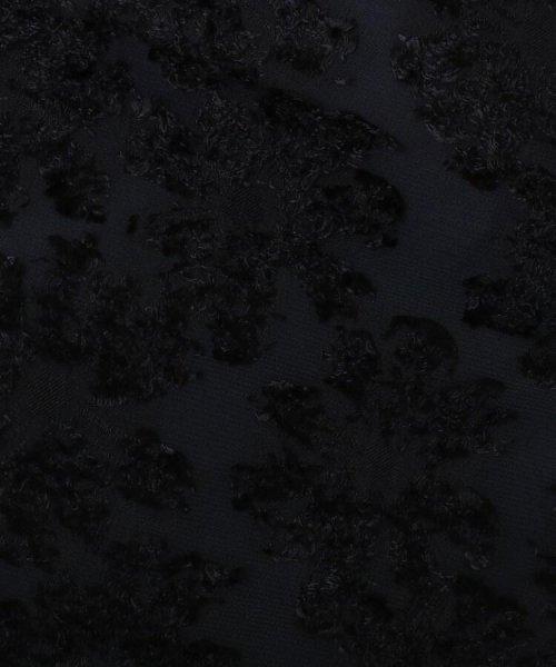 Couture Brooch(クチュールブローチ)/【WEB限定サイズ(LL)あり/手洗い可】カットジャガードミモレ丈スカート/20190250877006_img07