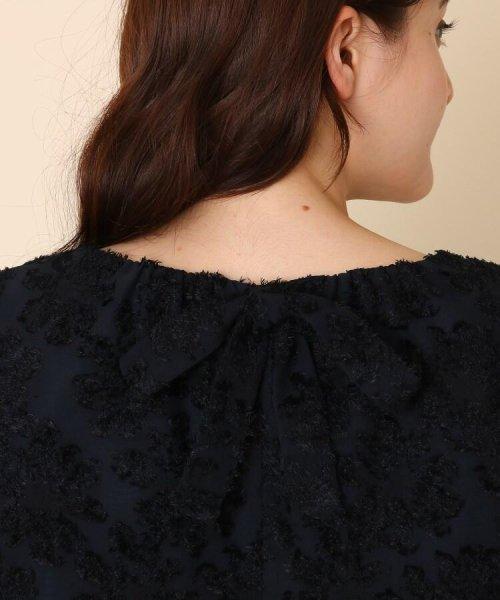 Couture Brooch(クチュールブローチ)/【WEB限定サイズ(LL)あり/手洗い可】カットジャガードブラウス/20190250887004_img05