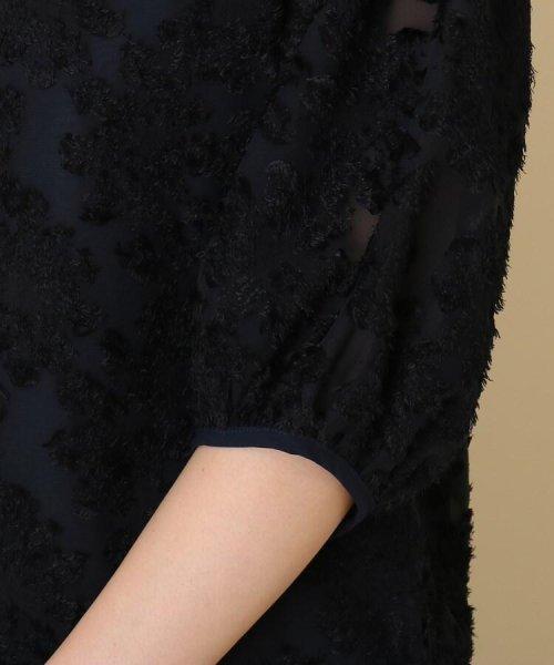 Couture Brooch(クチュールブローチ)/【WEB限定サイズ(LL)あり/手洗い可】カットジャガードブラウス/20190250887004_img06