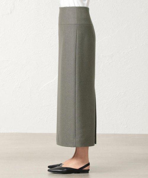 S.ESSENTIALS(エス エッセンシャルズ)/SUPER100'S ミルドパイルアクアジャージー ロングタイトスカート/P6S13255--_img04