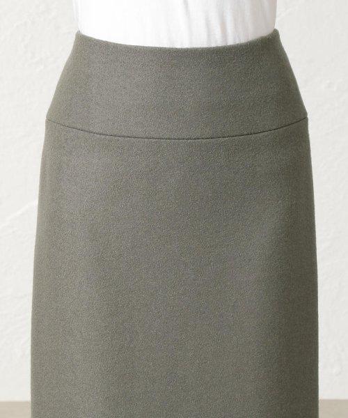 S.ESSENTIALS(エス エッセンシャルズ)/SUPER100'S ミルドパイルアクアジャージー ロングタイトスカート/P6S13255--_img07