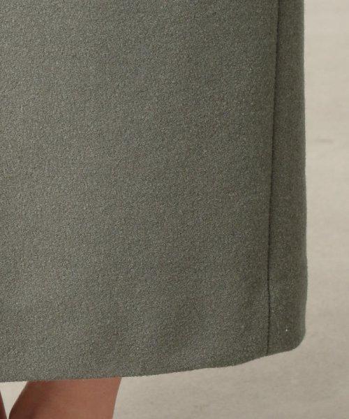 S.ESSENTIALS(エス エッセンシャルズ)/SUPER100'S ミルドパイルアクアジャージー ロングタイトスカート/P6S13255--_img08