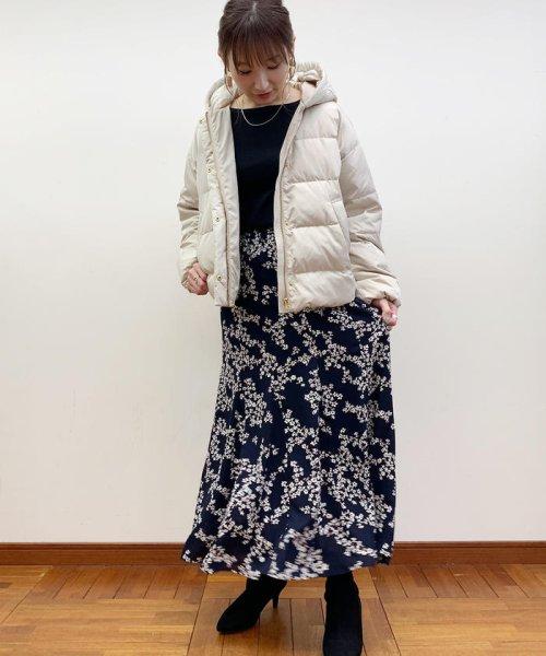 fredy emue(フレディエミュ)/花柄パネル切り替えスカート/9-0021-6-26-003_img12