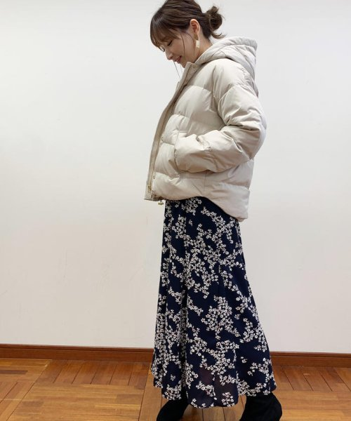 fredy emue(フレディエミュ)/花柄パネル切り替えスカート/9-0021-6-26-003_img13