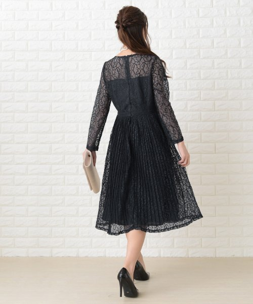 Lace Ladies(レースレディース)/刺繍レースギャザースカート長袖ワンピース・ドレス/PR106_img03