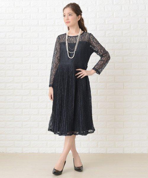 Lace Ladies(レースレディース)/刺繍レースギャザースカート長袖ワンピース・ドレス/PR106_img04