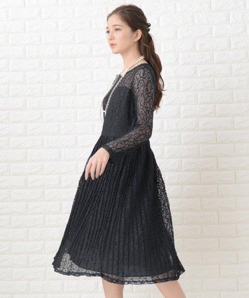 Lace Ladies(レースレディース)/刺繍レースギャザースカート長袖ワンピース・ドレス/PR106_img05
