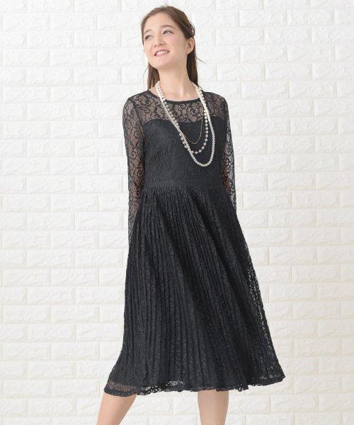 Lace Ladies(レースレディース)/刺繍レースギャザースカート長袖ワンピース・ドレス/PR106_img06