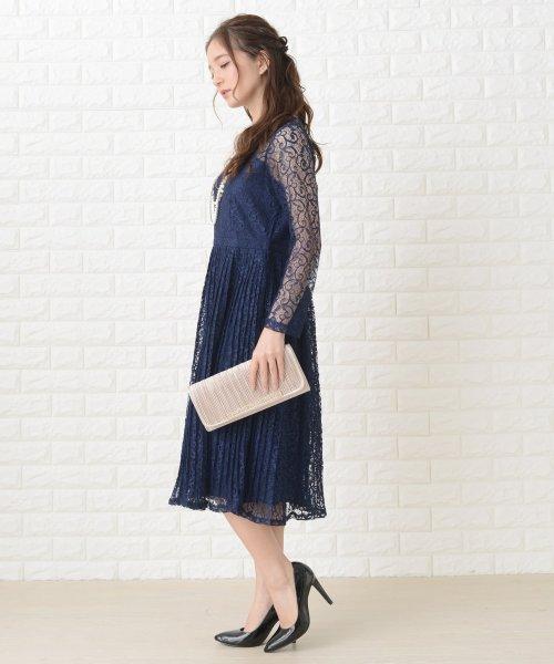 Lace Ladies(レースレディース)/刺繍レースギャザースカート長袖ワンピース・ドレス/PR106_img08