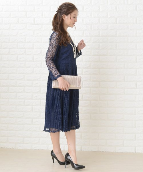 Lace Ladies(レースレディース)/刺繍レースギャザースカート長袖ワンピース・ドレス/PR106_img09