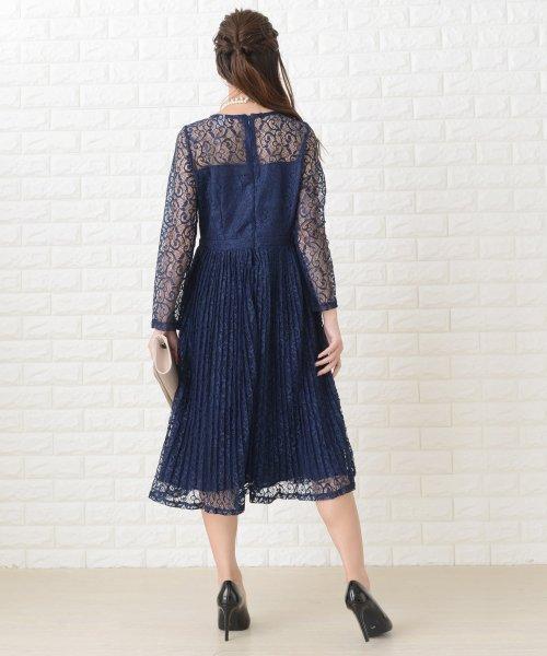 Lace Ladies(レースレディース)/刺繍レースギャザースカート長袖ワンピース・ドレス/PR106_img10