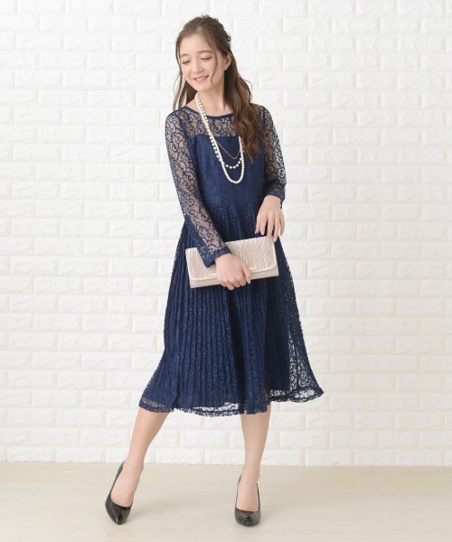 Lace Ladies(レースレディース)/刺繍レースギャザースカート長袖ワンピース・ドレス/PR106_img11