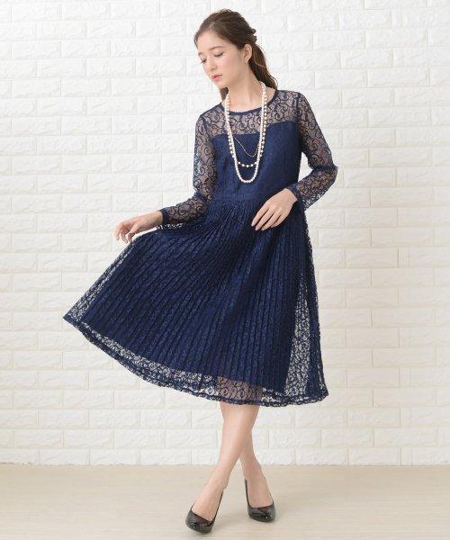 Lace Ladies(レースレディース)/刺繍レースギャザースカート長袖ワンピース・ドレス/PR106_img12