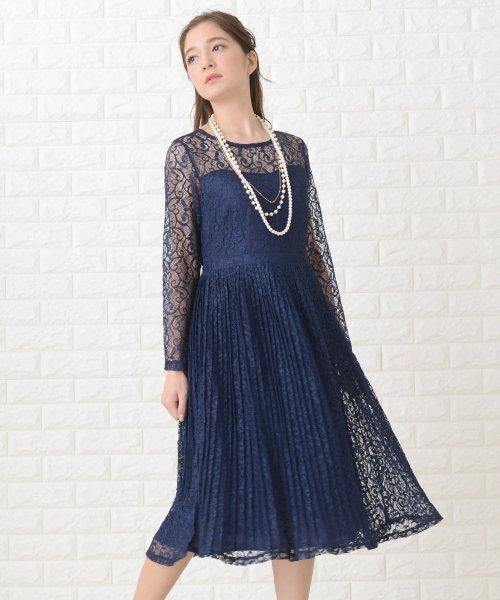 Lace Ladies(レースレディース)/刺繍レースギャザースカート長袖ワンピース・ドレス/PR106_img13