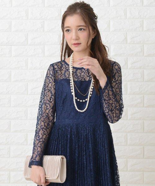 Lace Ladies(レースレディース)/刺繍レースギャザースカート長袖ワンピース・ドレス/PR106_img14