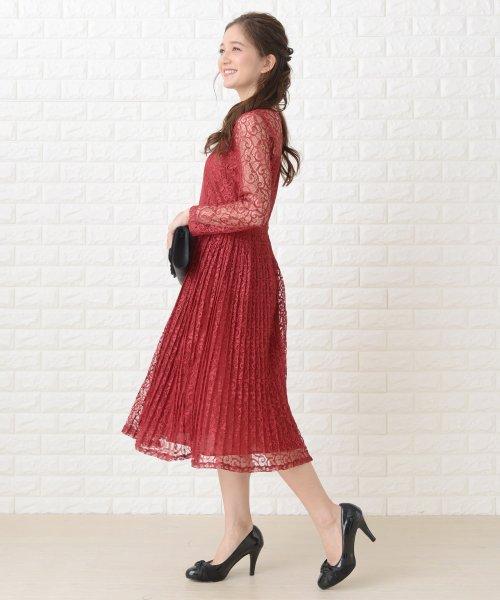 Lace Ladies(レースレディース)/刺繍レースギャザースカート長袖ワンピース・ドレス/PR106_img15