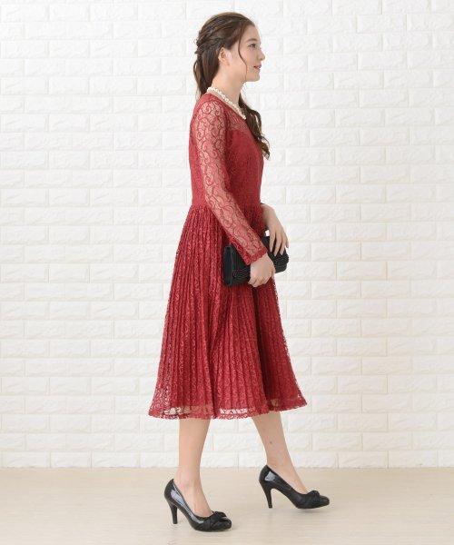 Lace Ladies(レースレディース)/刺繍レースギャザースカート長袖ワンピース・ドレス/PR106_img16