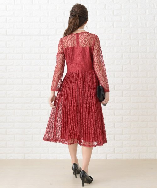 Lace Ladies(レースレディース)/刺繍レースギャザースカート長袖ワンピース・ドレス/PR106_img17