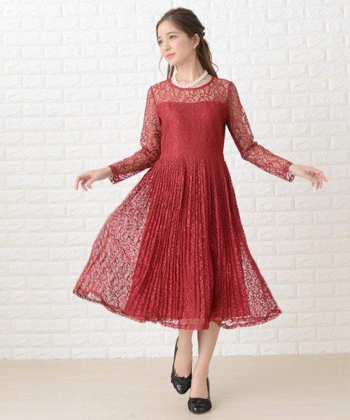 Lace Ladies(レースレディース)/刺繍レースギャザースカート長袖ワンピース・ドレス/PR106_img19