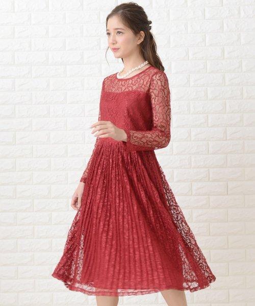 Lace Ladies(レースレディース)/刺繍レースギャザースカート長袖ワンピース・ドレス/PR106_img20