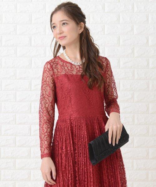 Lace Ladies(レースレディース)/刺繍レースギャザースカート長袖ワンピース・ドレス/PR106_img21