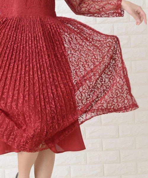 Lace Ladies(レースレディース)/刺繍レースギャザースカート長袖ワンピース・ドレス/PR106_img22