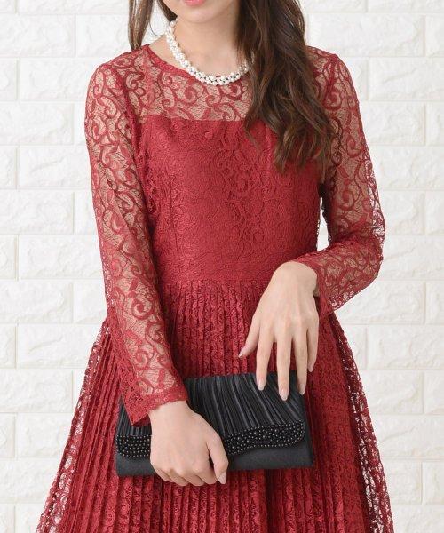 Lace Ladies(レースレディース)/刺繍レースギャザースカート長袖ワンピース・ドレス/PR106_img23