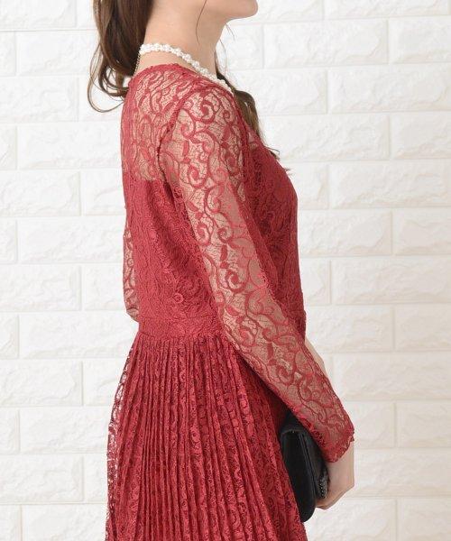 Lace Ladies(レースレディース)/刺繍レースギャザースカート長袖ワンピース・ドレス/PR106_img24