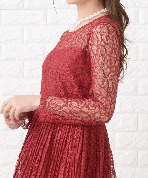 Lace Ladies(レースレディース)/刺繍レースギャザースカート長袖ワンピース・ドレス/PR106_img25