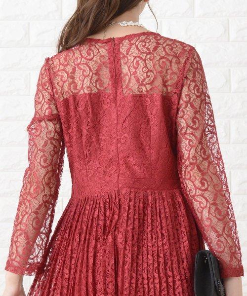 Lace Ladies(レースレディース)/刺繍レースギャザースカート長袖ワンピース・ドレス/PR106_img26