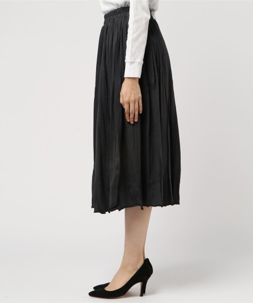 aimoha(aimoha(アイモハ))/フレアコットンスカート フレアスカート レディース 膝丈 ロング ロングスカート スウェットスカート レディース スカート ロングスカート 春スカート コットン/moha41135a_img01