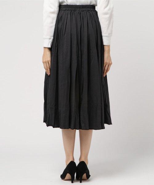 aimoha(aimoha(アイモハ))/フレアコットンスカート フレアスカート レディース 膝丈 ロング ロングスカート スウェットスカート レディース スカート ロングスカート 春スカート コットン/moha41135a_img02