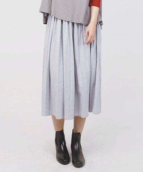 aimoha(aimoha(アイモハ))/フレアコットンスカート フレアスカート レディース 膝丈 ロング ロングスカート スウェットスカート レディース スカート ロングスカート 春スカート コットン/moha41135a_img16