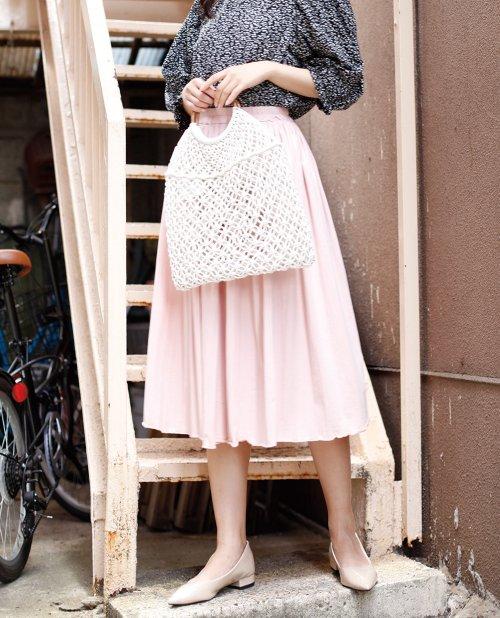 aimoha(aimoha(アイモハ))/フレアコットンスカート フレアスカート レディース 膝丈 ロング ロングスカート スウェットスカート レディース スカート ロングスカート 春スカート コットン/moha41135a_img17