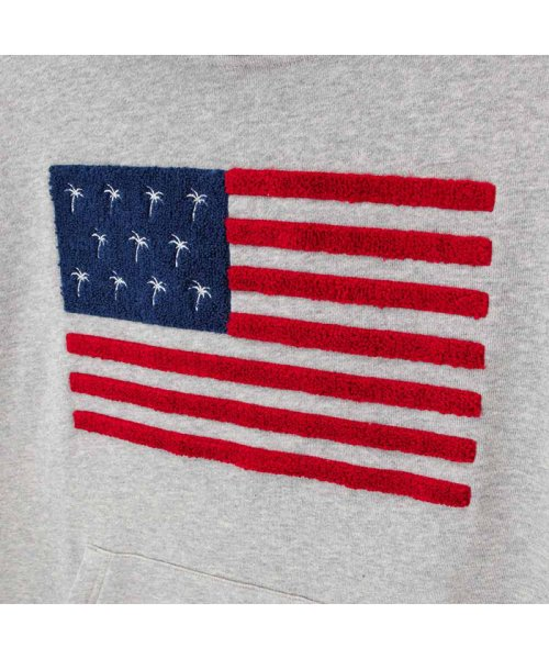 MAC HOUSE(men)(マックハウス(メンズ))/Navy ネイビー NANY JEANS 裏毛サガラ刺繍パーカー 93-7247P-VM/01224300599_img09