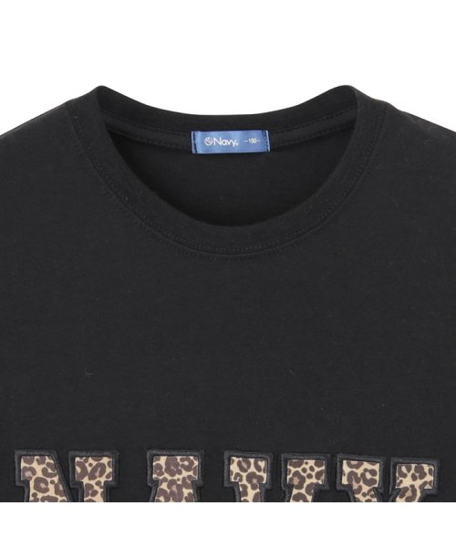 MAC HOUSE(kid's)(マックハウス(キッズ))/Navy ネイビー ボーイズ ワッペンロングスリーブTシャツ EJ195-KB103/03221001619_img01
