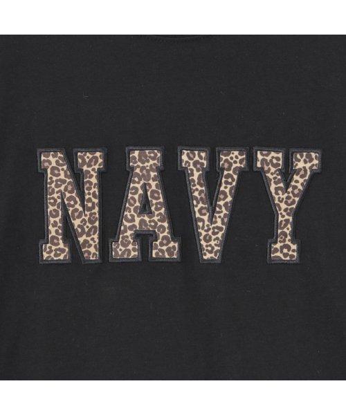 MAC HOUSE(kid's)(マックハウス(キッズ))/Navy ネイビー ボーイズ ワッペンロングスリーブTシャツ EJ195-KB103/03221001619_img04