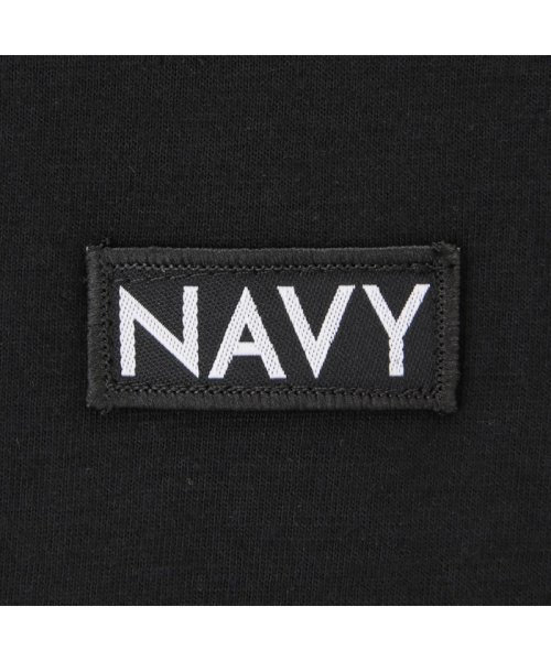 MAC HOUSE(kid's)(マックハウス(キッズ))/Navy ネイビー ボーイズ ボックスロゴロングスリーブTシャツ EJ195-KB104/03221001620_img04