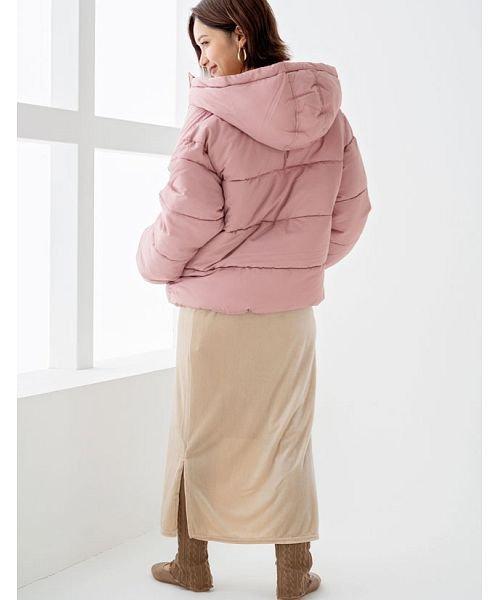 GROWINGRICH(グローウィングリッチ)/[ボトムス スカート]ベロアコーデュロイタイトスカート[190690]しっとりキレイな冬スカート/190690_img12
