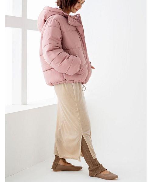 GROWINGRICH(グローウィングリッチ)/[ボトムス スカート]ベロアコーデュロイタイトスカート[190690]しっとりキレイな冬スカート/190690_img15