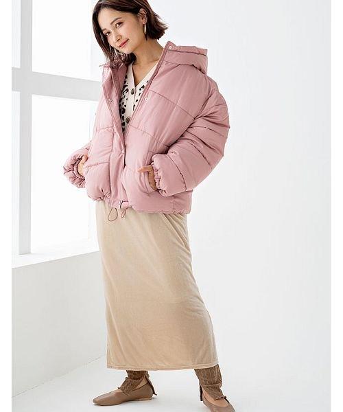 GROWINGRICH(グローウィングリッチ)/[ボトムス スカート]ベロアコーデュロイタイトスカート[190690]しっとりキレイな冬スカート/190690_img16