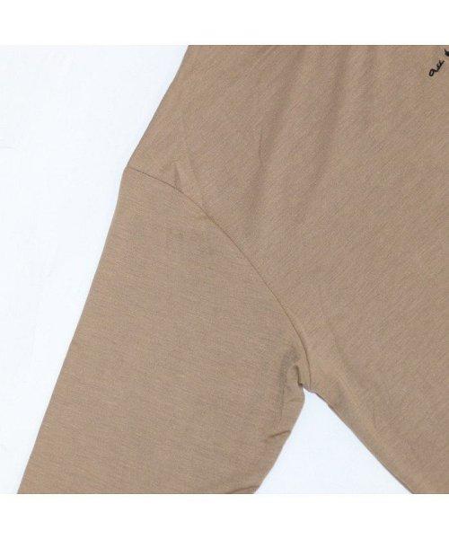 non-hedge(ノンヘッジ)/ロゴ刺繍Tシャツワンピース/Tシャツロングワンピース/ロンT/ロング丈/ゆるワンピ/楽ちん/リラックス/秋冬/AW/定番/ベーシック/シンプル/無地/体型カバー/9174057B-6_img20