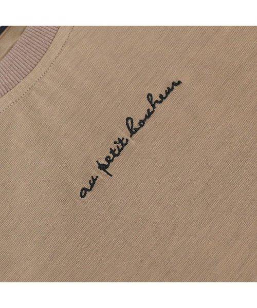 non-hedge(ノンヘッジ)/ロゴ刺繍Tシャツワンピース/Tシャツロングワンピース/ロンT/ロング丈/ゆるワンピ/楽ちん/リラックス/秋冬/AW/定番/ベーシック/シンプル/無地/体型カバー/9174057B-6_img22