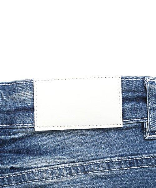 LUXSTYLE(ラグスタイル)/リペアアンクルスキニーデニムパンツ/デニム パンツ メンズ アンクル ダメージ/pm-8719_img15