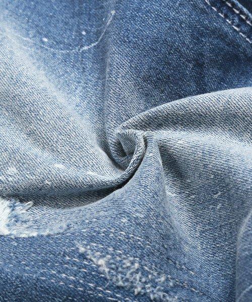 LUXSTYLE(ラグスタイル)/リペアアンクルスキニーデニムパンツ/デニム パンツ メンズ アンクル ダメージ/pm-8719_img20