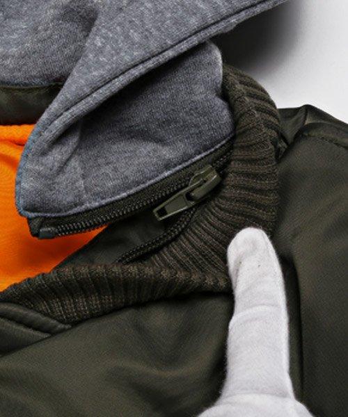 LUXSTYLE(ラグスタイル)/フード付きMA-1/MA-1 MA MA1 メンズ ジャケット/pm-8744_img14