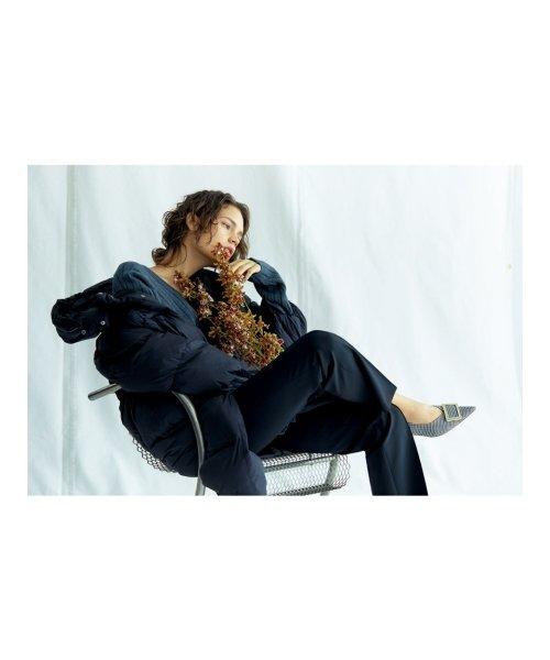 Mila Owen(ミラオーウェン)/やわらかロングダウンコート/09WFC195070_img01