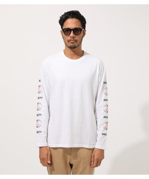 AZUL by moussy(アズールバイマウジー)/DIFFRENT GRAPHIC LONG TEE/251CAM90-425H_img03
