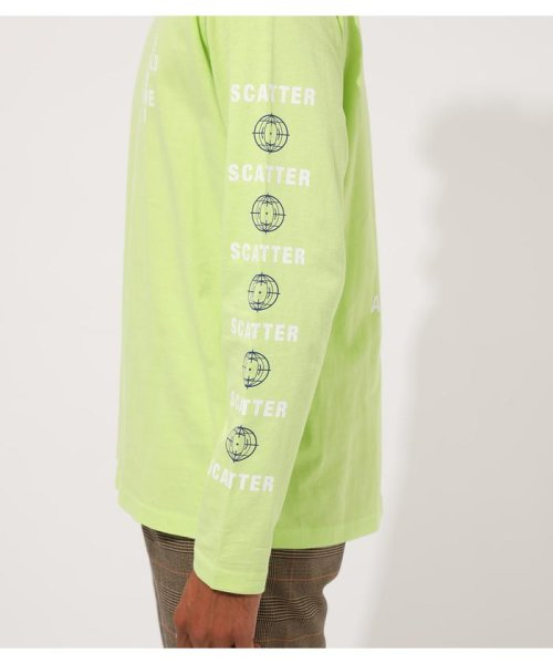 AZUL by moussy(アズールバイマウジー)/DIFFRENT GRAPHIC LONG TEE/251CAM90-425H_img23