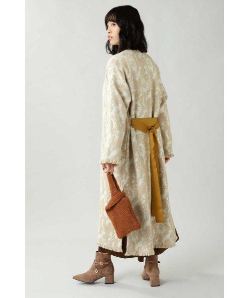ROSE BUD(ローズバッド)/Wool Jacquard Coat/6019220029_img02